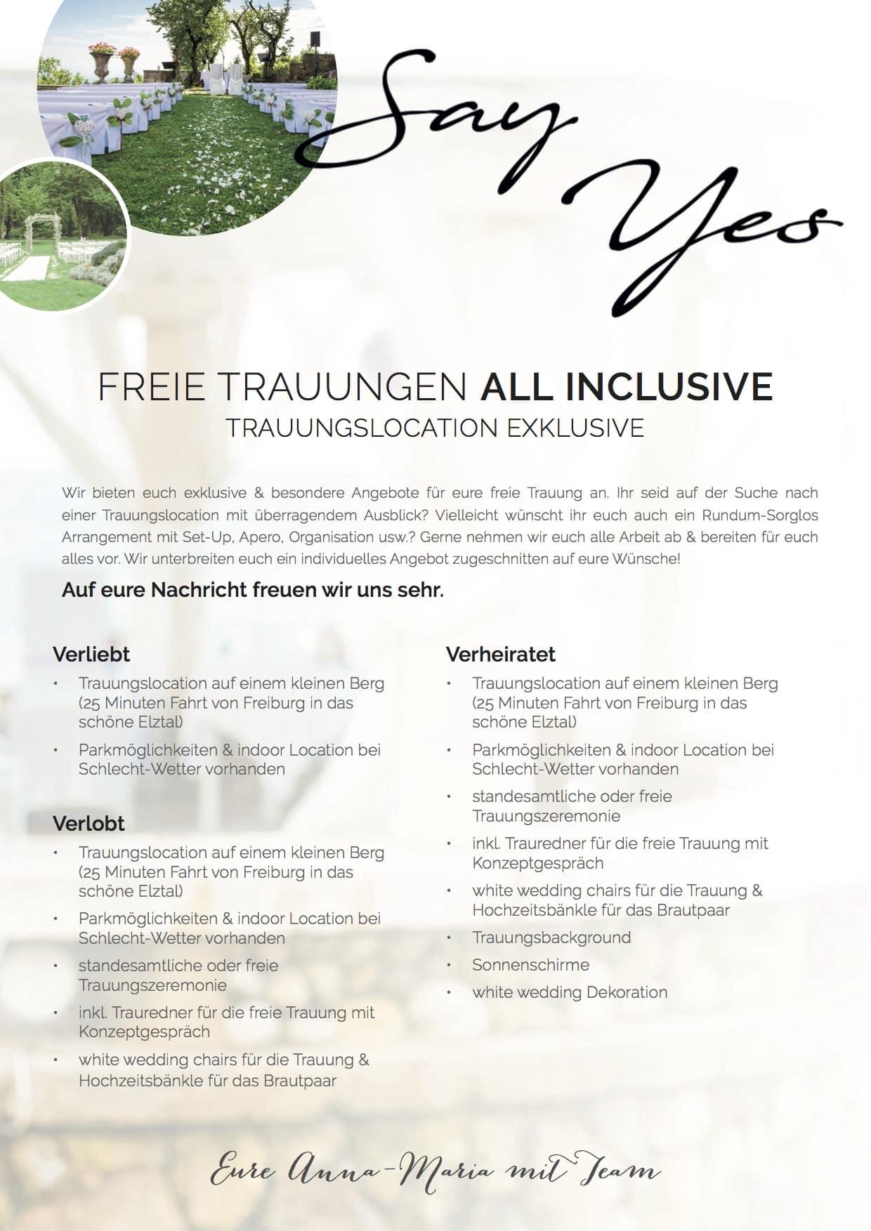 Trauung freie texte wünsche 5 Gedichte